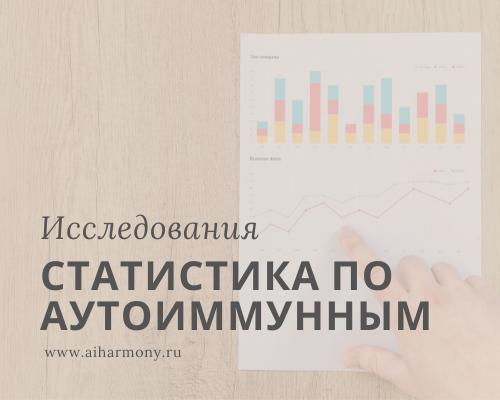 Статистика по аутоиммунным заболеваниям