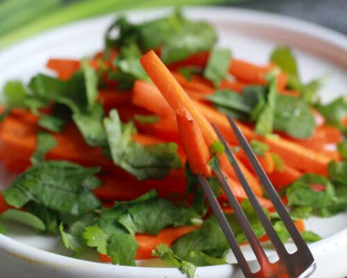 Морковь жареная